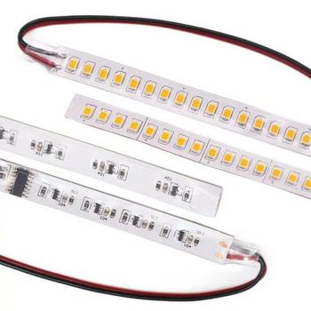 12V uniwersalny 1Pc dynamiczny elastyczny boczny tylny kierunkowskaz w lusterku lampa płynący sygnał skrętu pasek migacz bursztynowy dzienne światła LED DIY tanie i dobre opinie Turn Signal Brak 12 v YELLOW Amber Turn Signal Lamp Dynamic Flexible Car Rearview Mirror Indicator Lamp