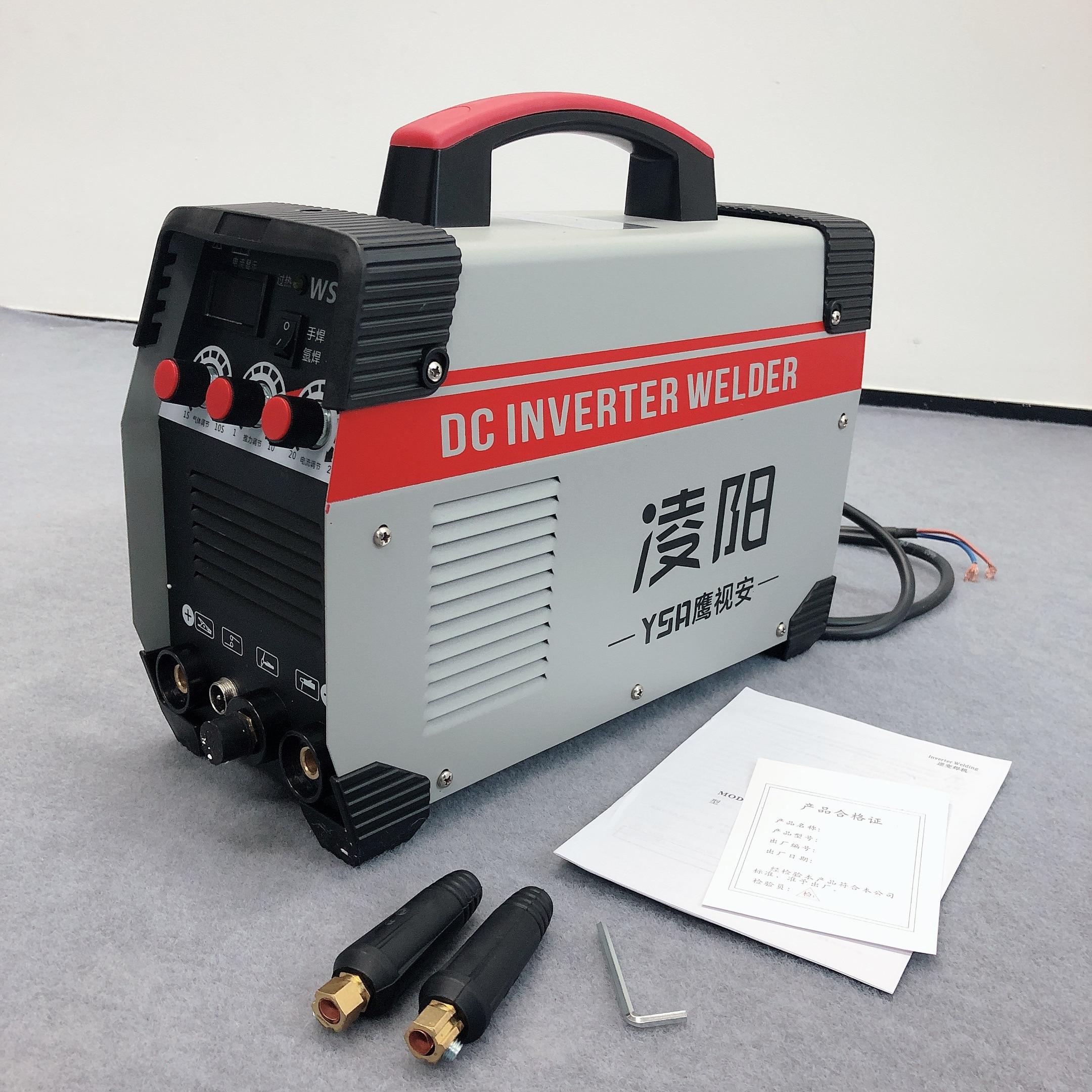 2In1 ARC / tig schweißer Inverter Arc Schweißen Maschine 220V 250A MMA Schweißen Power Tools