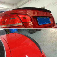 For BMW 3 Series cabriolet E93 spoiler 2007 2013 year rear wing m style Sport body kit Accessories real carbon fiber