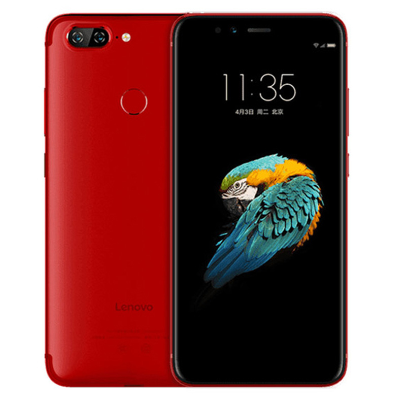 Globale Version Lenovo S5 Smartphone 4GB 64GB Snapdragon 625 Octa Core 4G LTE 5,7 inch handy dual Hinten Kamera 3000mAh Rot