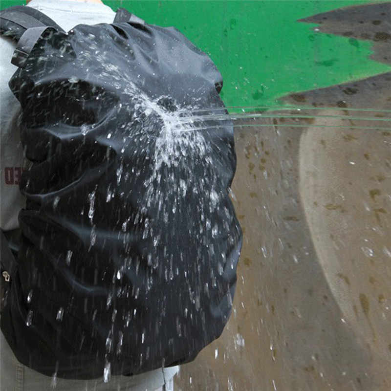 Regen Abdeckung Rucksack 35L 45L 50L-60L 70L Wasserdichte Tasche Camo Taktische Outdoor Camping Wandern Klettern Staub Regenschutz Sport Taschen