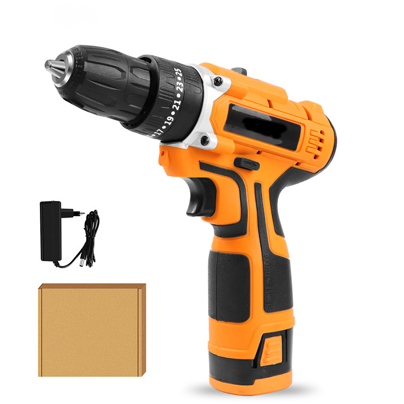 16.8V Cordless Screwdriver Electric Drill Charging Lithium Battery Waterproof Hand Power Tools