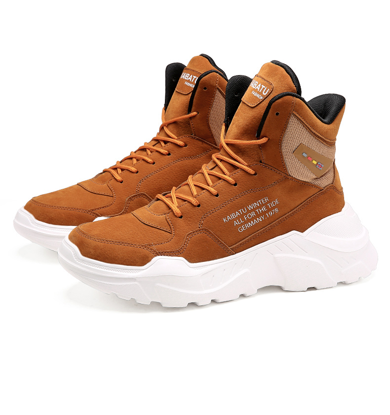 2019 Mens Shoes Casual Slip On Breathable Hot Sale Air Cushion Keep warm Sneakers Men Shoes Spring Shoes Outdoor Flats Shoes 56