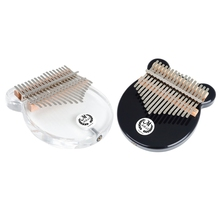 Electric-Pickup-Cable Kalimba Musical-Instrument 17-Keys Speaker Thumb-Piano-Link EQ