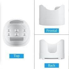 Stanstar suporte de montagem na parede para deco m4/e4/p9 toda casa malha sistema wifi, suporte com gestão do cabo