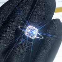 Moissanite 0.5ct Hardness 9.3, diamond substitutes, can be tested by instruments. Popular jewelry