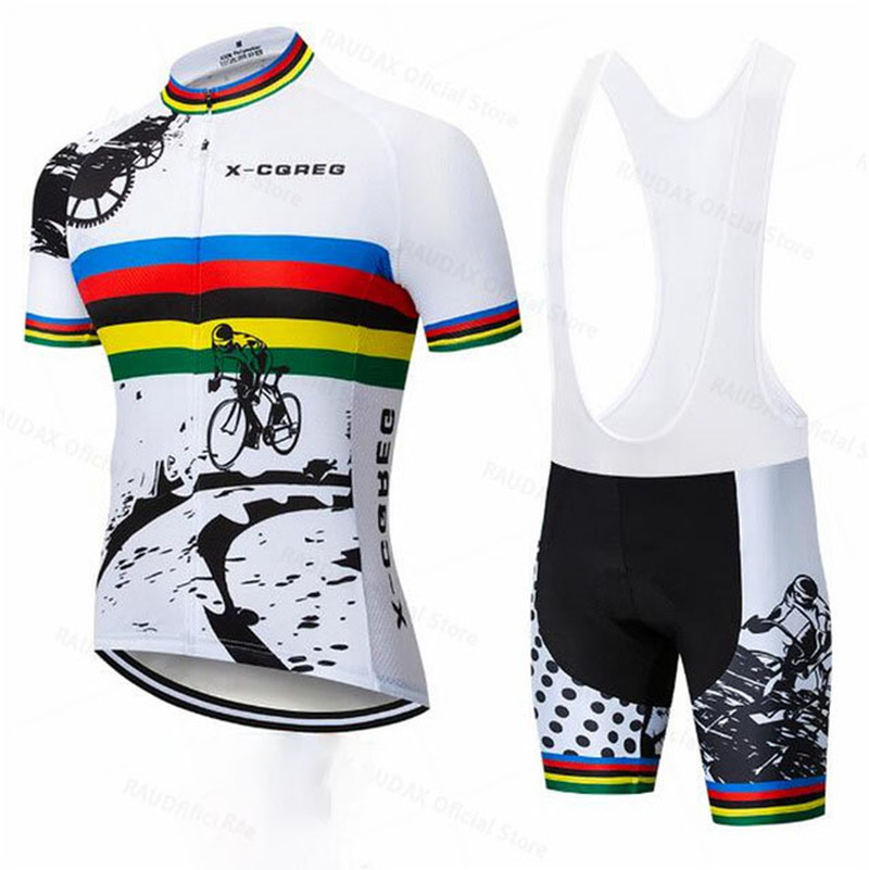 X-CQREGMen's Cycling Jerseys 2020 Hot Roupas Ropa Ciclismo Hombre MTB Maillot Cycling/Summer Road <font><b>Bike</b></font> <font><b>Wear</b></font> Clothes Cycling Set image