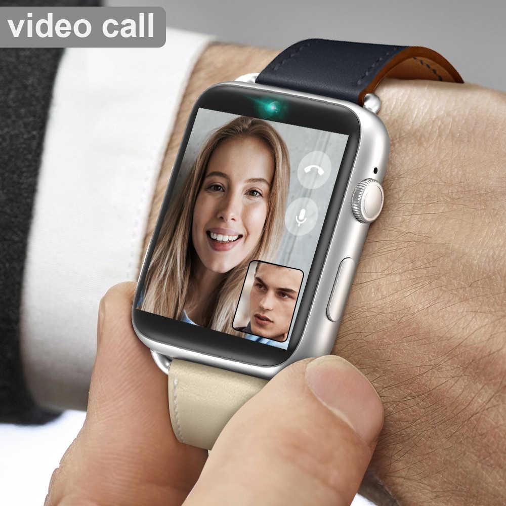 Lemfo lem10 4g relógio inteligente android 7.1 1.88 Polegada 360*320 tela 3 gb + 32 gb gps wifi 780mah bateria grande telefone smartwatch