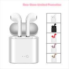 I7s TWS Mini Bluetooth sans fil écouteurs écouteurs avec boîte de charge sport casques Audifonos pour xiaomi téléphone intelligent