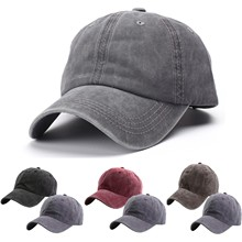 2PC Unisex Children's Casual Solid Baseball Cap Outdoor Fashion Casual Adjustable Washable Baseball Cap Sun Hat Accessories