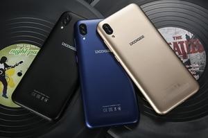 Image 2 - DOOGEE X90 cep telefonu 6.1 inç 19:9 Waterdrop LTPS ekran Smartphone dört çekirdekli 16GB ROM 3400mAh çift SIM 8MP + 5MP WCDMA Android gitmek