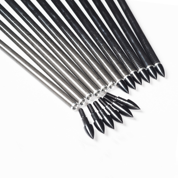 12pcs Linkboy Archery Pure Carbon Arrows ID6.2MM Spine 300 340 400 500 31inch 4inch Turkey Feather Compound Bow Hunting 5