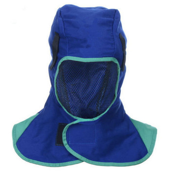 Ognioodporny kask ochronny spawanie szyi rama ochronna pokrywa głowicy spawalniczej kaski spawalnicze spawanie wyposażeniem ochronnym tanie i dobre opinie Other One Size(fits all) Welding Helmet