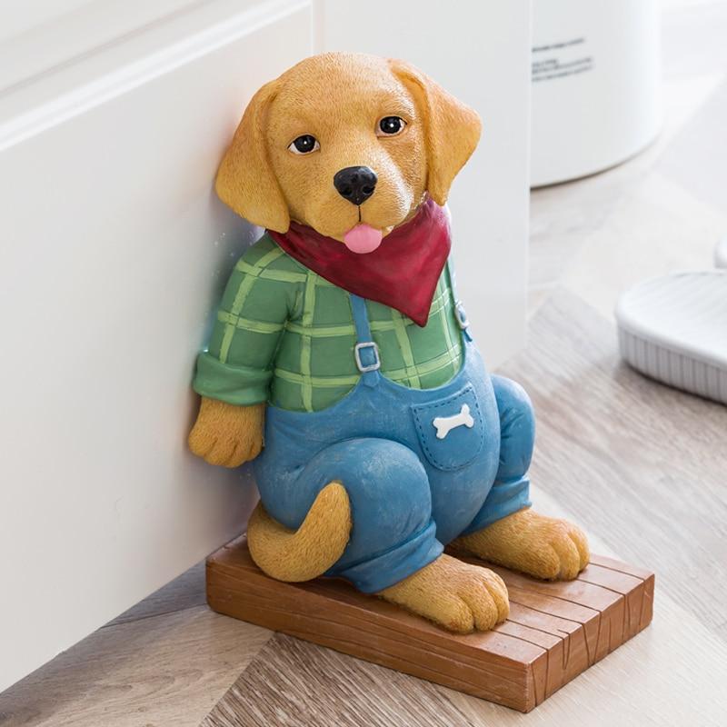 Modern Cat Art Door Closer Animal Figurine Gate Resistance Creative Resin Crafts Door Stop Decorations For Home R3603