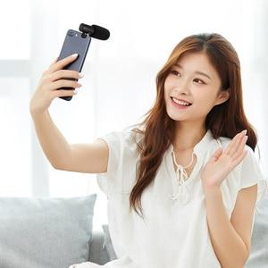 Image 5 - Mamen Telefoon Microfoon Mini Draagbare 3.5 Mm Condensor Telefoon Video Camera Interview Microfoon Met Mof Voor Iphone Samsung Mic