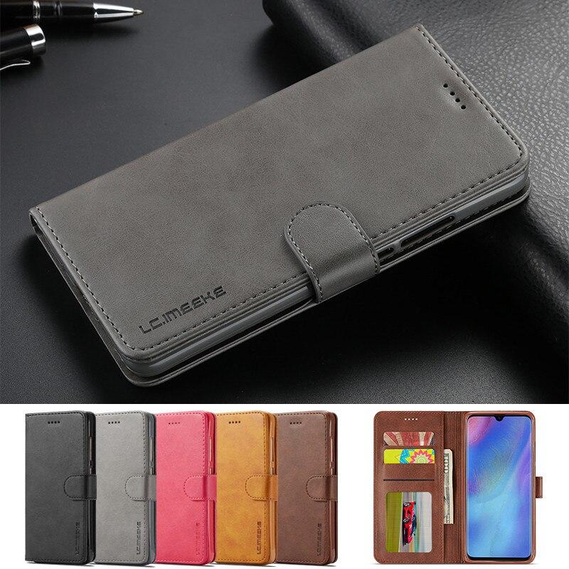 Huawei p30 p20 p10 lite caso huawei companheiro 10 20 30 pro caso para honra 9x 8x caso em huawei p inteligente 2019 casos de couro flip carteira
