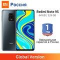 Глобальная версия Xiaomi Redmi Note 9S 6 ГБ 128 ГБ/4 ГБ 64 ГБ 9 S мобильный телефон Snapdragon 720G 6,67 дюймов 5020 мА/ч, 48MP четырьмя камерами