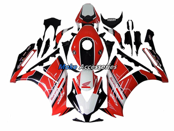 Motorcycle Fairings Kit Fit For Cbr1000rr 2012 2013 2014 2015 2016 Bodywork Set High Quality ABS Injection Red Black недорого