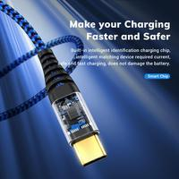 Micro USB Type C Cable 3A Fast Charging Data Cable Cellphones & Telecommunications