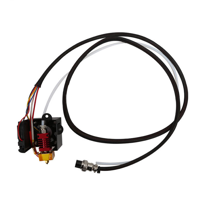 1 PCS 3D Full Assembled Extruder Kits Fan Cover Air Connections Nozzle Kits for CR 10 Series 3D Printer Parts in 3D Printer Parts Accessories from Computer Office