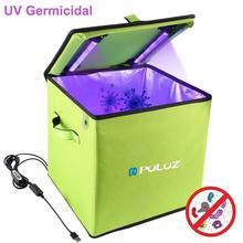 Puluz 20/30センチメートル紫外線殺菌ボックス家庭用殺菌収納袋消毒電話、下着、キー、ボトル、歯ブラシ、おもちゃ