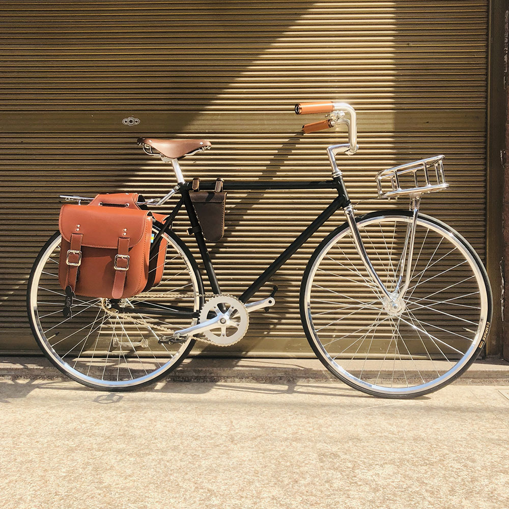 vintage road bike 700C  bike Retro sliver with  sliver basket Track single speed Bicycle frame  52cm with lug fixie bike frame