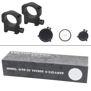 Vector Optics Veyron 6-24x44 Riflescope Ultra Short Compact 1/10 MIL Hunting Rifle Scope Airgun Shooting Real Firearms 6