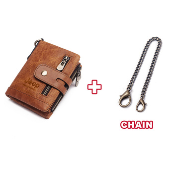 Luxury Designer Men Wallet Genuine Leather Bifold Short Wallets Male Hasp Vintage Purse Coin Pouch Multi-functional Cards Pocket 10