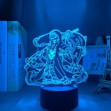 Led-Night-Light 3d-Lamp Trafalgar Law Decor-Japanese-Anime One-Piece Kids Bedroom
