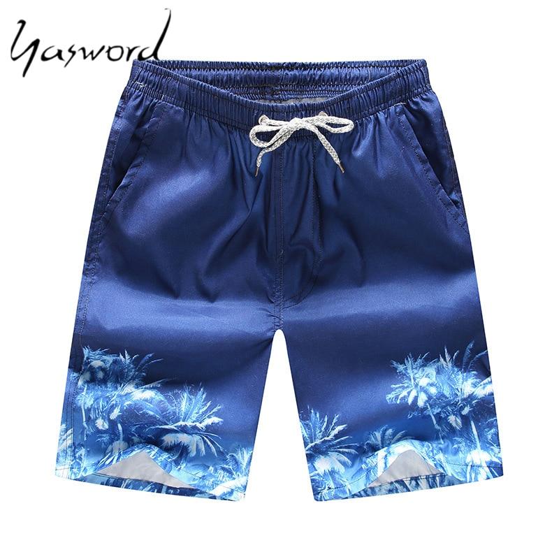 Men Printed Beach Shorts Quick Dry Running Shorts Swimwear Swimsuit Swim Trunks Beachwear Sports Shorts Board Shorts Plus Size