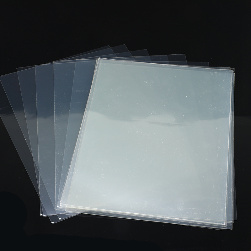 20Pcs/set Transparent A4 Double Sided Adhesive Sheet Clear DIY Craft Strong Sticky Tape Paper School Office Supply Hot Sale