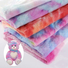 Plush-Fabric Pillow Rainbow-Flannel Tablecloth Party-Decoration Sewing Wedding Colorful
