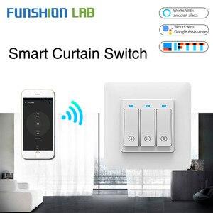 Image 1 - Persiana enrollable inteligente con WiFi, cortina de botones con Control remoto, motorizada, Tuya, Alexa y Google Home
