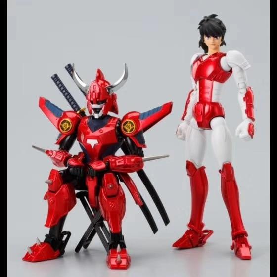 Lutoys модель Ronin Warriors YoroiDen Самурайские солдатики Sanada Ryo ПВХ фигурка модель игрушки подарки