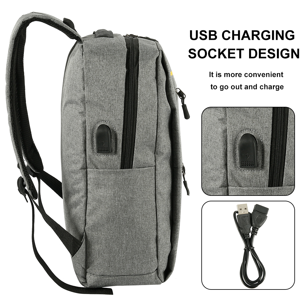 2019 USB Charging Backpack 3pcs/set Men Women Fashion Backpacks for Unisex Travel Bags Casual Nylon Shoulder School Backpacks