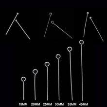 Teste di Occhio in Acciaio Inox a Testa Piatta Spille Per Monili Che Fanno I Risultati Accessori 15 millimetri 20 millimetri 25 millimetri 30 millimetri 35 millimetri 40 millimetri Fornitore All'ingrosso
