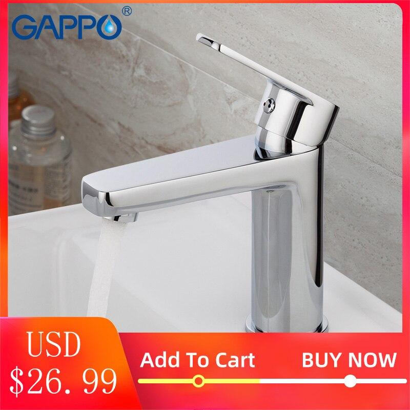 Gappo bacia torneira da pia misturador de água da torneira do banho toneir torneira de bronze misturador do banheiro lavatório torneiras misturadoras do banheiro toneira