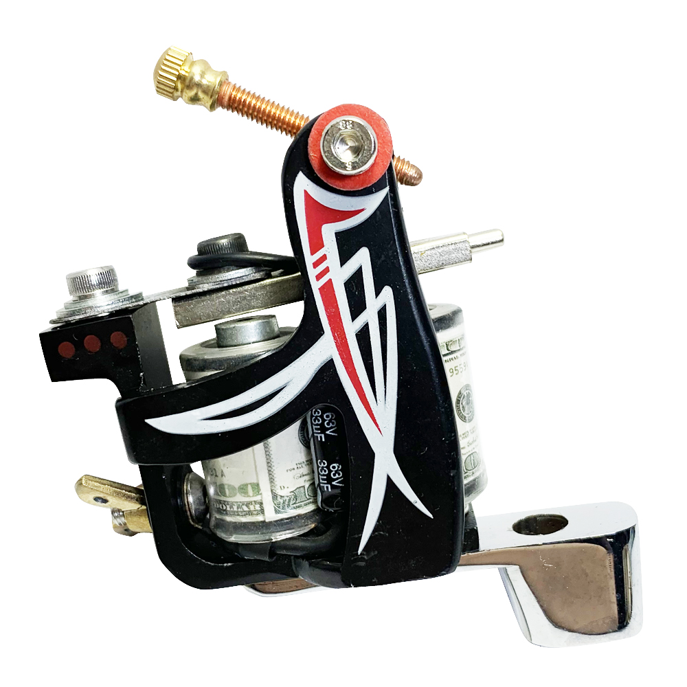 1 NEW  Tattoo Machine Gun For Liner Dual 10-Wrap Coils Set Assembly Greater For Liner We Can Build Shader For You If You Need