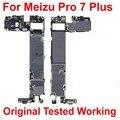 Оригинальный тест разблокировки Рабочая электронная панель материнская плата для Meizu Pro7 Plus Pro 7 plus материнская плата платы шлейф
