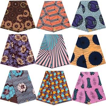 Cera reale Pagne Ankara Africa Stampe Tessuto Nizza Patterned di Alta Qualità 100% Poliestere Materiale per il Vestito Da Cucire Craft Accessori