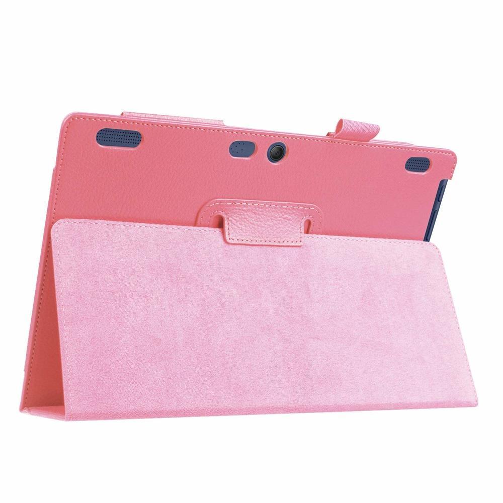 Caso capa tablet caso de couro para lenovo tab2 A10-70F/l A10-30 x30f 10.1 Polegada para lenovo tab3 10 negócios x103f TB3-X70F/m capa