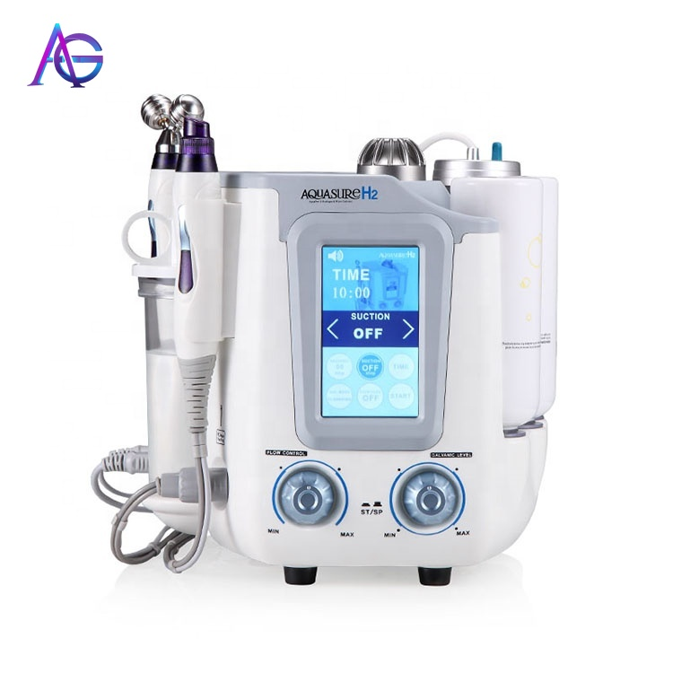 3 In 1 AQUASURE H2 Oxygen Machine Hydrafacial Device BIO Skin Lifting And Facial Deep Cleaning For All Skin Type