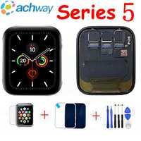 Para Apple Watch 5 Pantalla LCD montaje de Pantalla táctil para Apple Watch serie 5 gama de LCD S5 44MM 40MM Pantalla piezas de repuesto