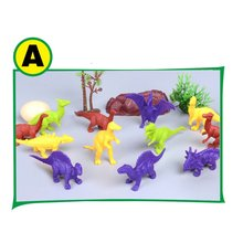 Dinosaur Model Toy Simulation Dinosaur Model Plastic Dinosaur Toy Dinosaur Parent-Child Interaction Gift to Children's Toy plesiosaur model plastic doll simulation dinosaur hand model toy
