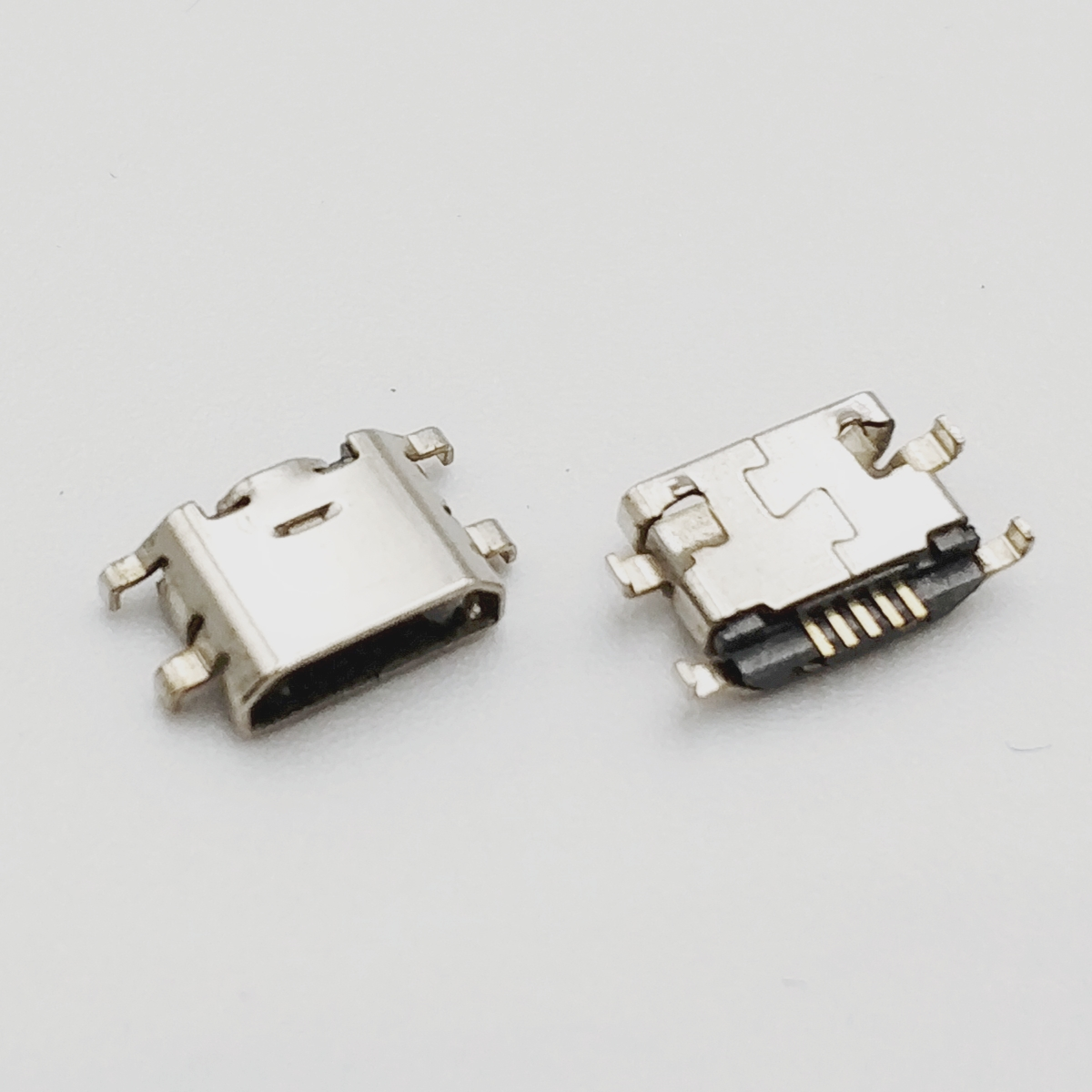 10pcs Micro USB 5pin Mini Connector Reverse Heavy Plate Mobile Charging Port For Xiaomi MAX MI MIX Mobile Phone Repair Parts