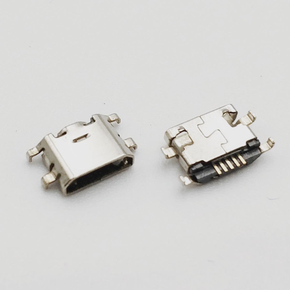 10pcs Micro USB 5pin Mini Connector Reverse Heavy Plate Mobile Charging Port For Xiaomi MAX MI MIX Mobile Phone Repair Parts