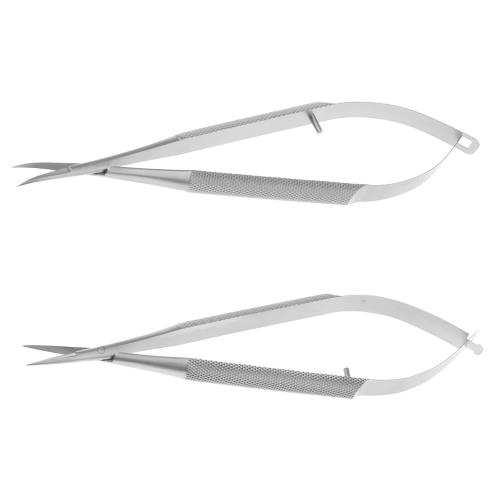 Micro Scissors Straight Stitch Cutting Embroidery Spring Action for EYE SKIN SURGEON