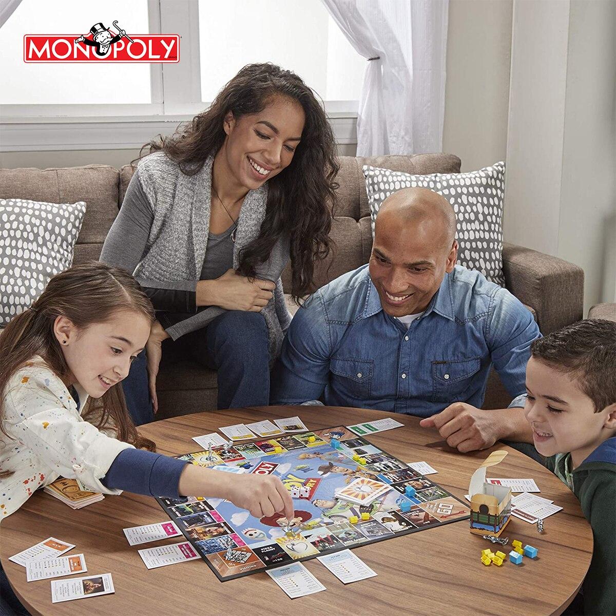 Классическая настольная игра-головоломка «История игрушек», енот, для детей, настольная игра для мальчиков и девочек, подарок на день рождения, E5065 4