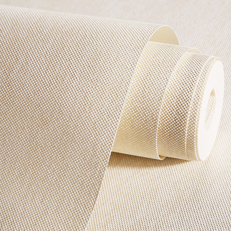 Minimalist Modern Plain Color Non-woven Wallpaper Solid Color Foaming Wallpaper Manufacturers Supply A Generation Of Fat 50911 W
