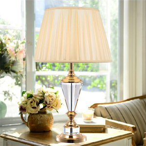 Nordic Crystal Table Lamp Bedr